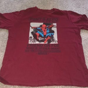 Boys spider man t shirt